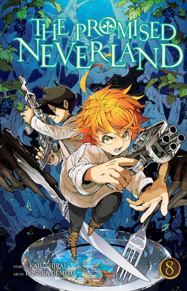 The Promised Neverland Manga Volume 8