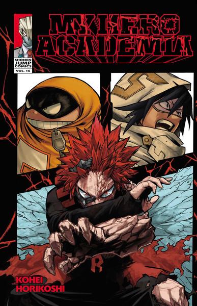 My Hero Academia Manga Volume 16
