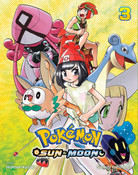 Pokemon Sun & Moon Manga Volume 3