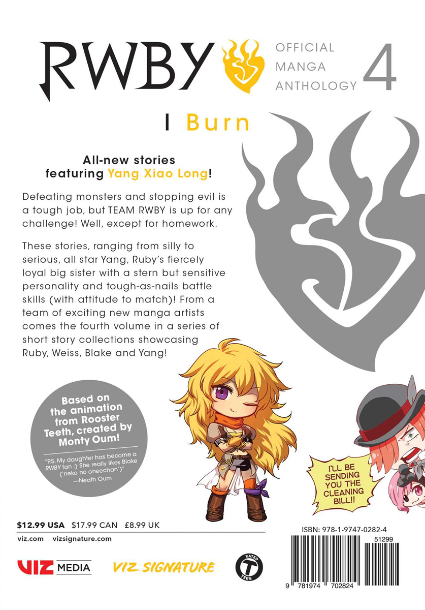 RWBY Official Manga Anthology Manga Volume 4
