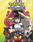 Pokemon Sun & Moon Manga Volume 4
