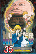 Hunter X Hunter Manga Volume 35