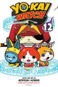 Yo-kai Watch Manga Volume 12