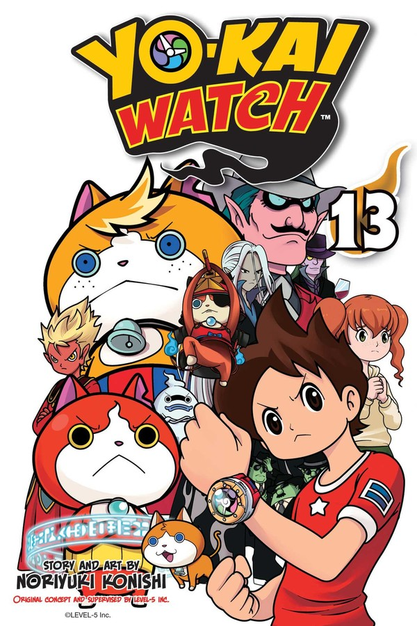 Yo-kai Watch Manga Volume 13