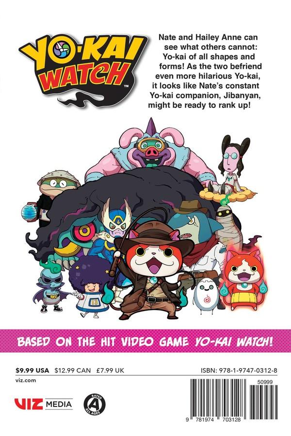 Yo-kai Watch Manga Volume 14