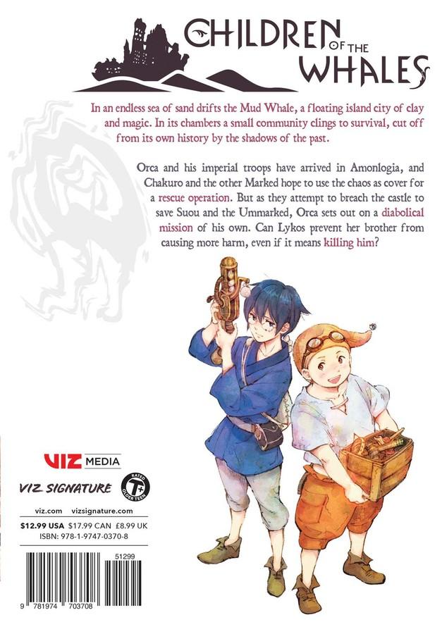 Children of the Whales Manga Volume 11