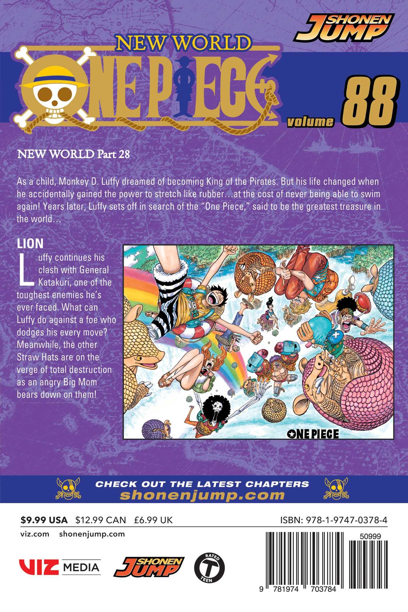 One Piece Manga Volume 88
