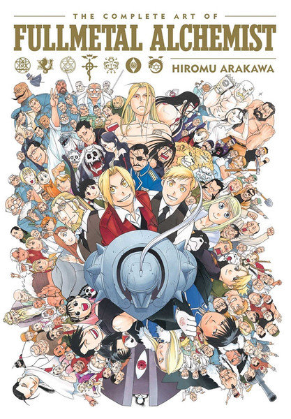 The Complete Art Of Fullmetal Alchemist (Hardcover)