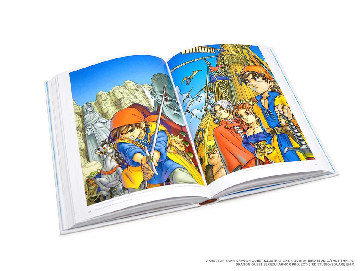 Dragon Quest Illustrations 30th Anniversary Edition Artbook (Hardcover)