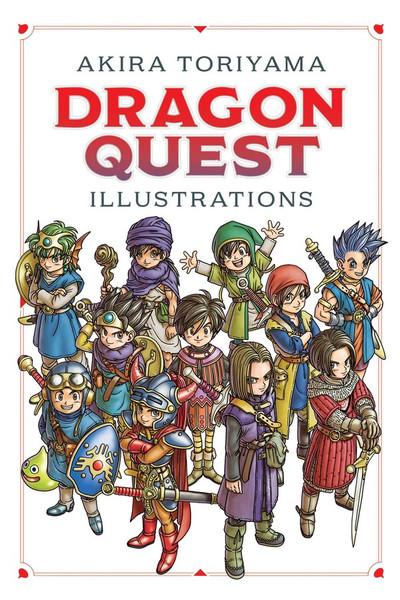 Dragon Quest Illustrations 30th Anniversary Edition Artbook (Hardcover)