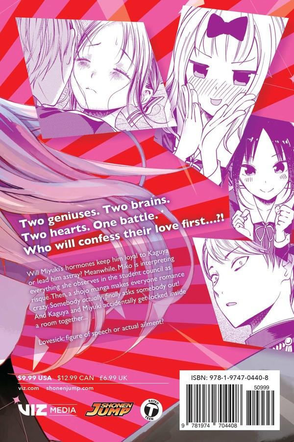 Kaguya-sama Love Is War Manga Volume 8