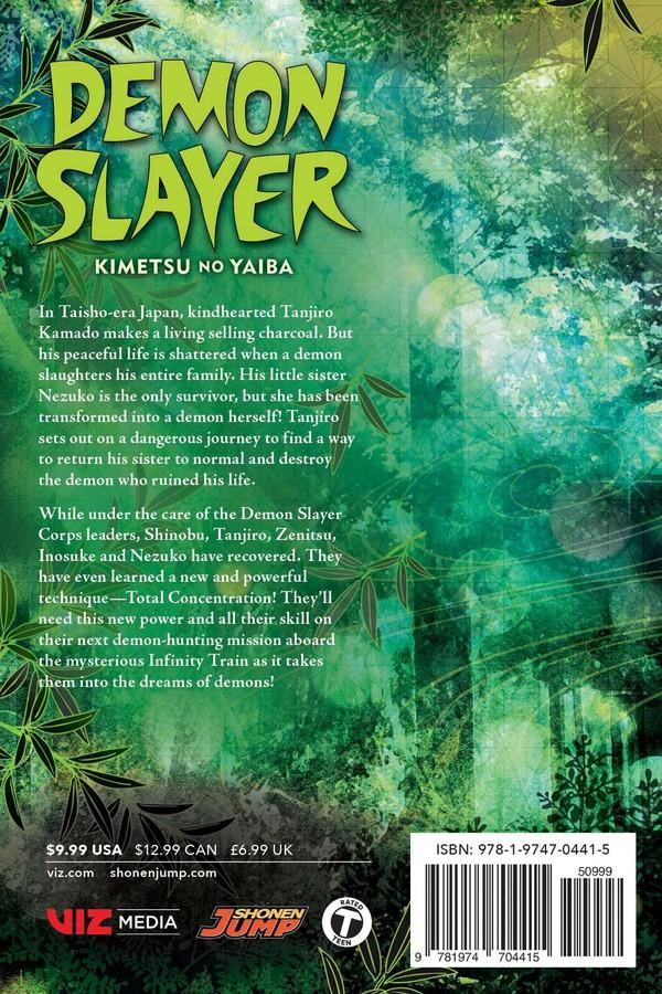 Demon Slayer Kimetsu no Yaiba Manga Volume 7