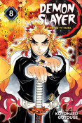 Demon Slayer Kimetsu no Yaiba Manga Volume 8