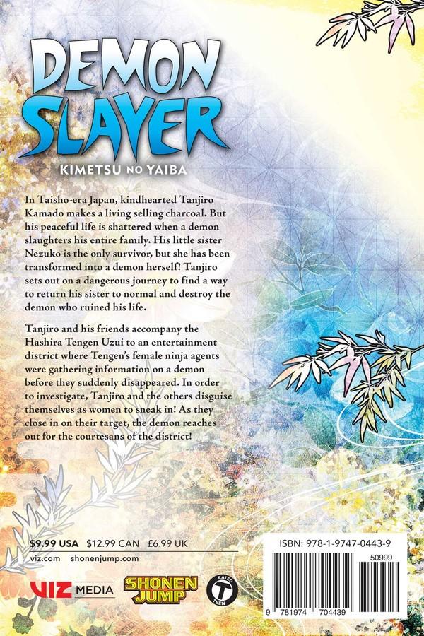 Demon Slayer Kimetsu no Yaiba Manga Volume 9
