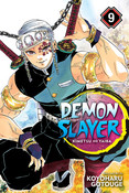 Demon Slayer Kimetsu no Yaiba Manga Volume 9