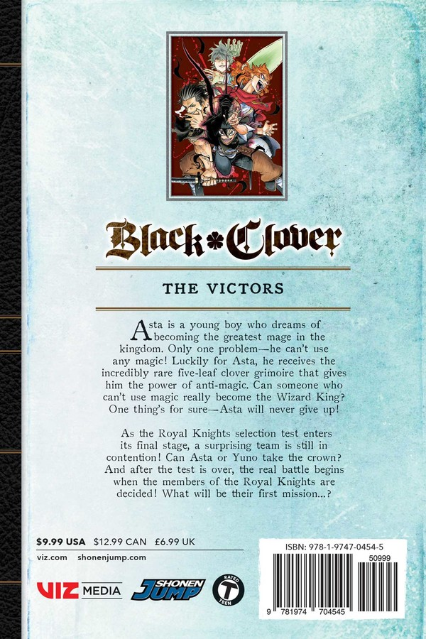 Black Clover Manga Volume 15