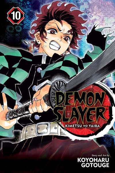 Demon Slayer Kimetsu no Yaiba Manga Volume 10
