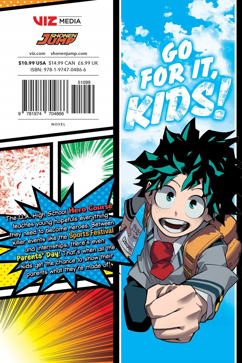My Hero Academia School Briefs Novel Volume 1