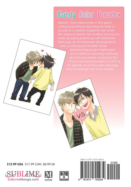 Candy Color Paradox Manga Volume 1