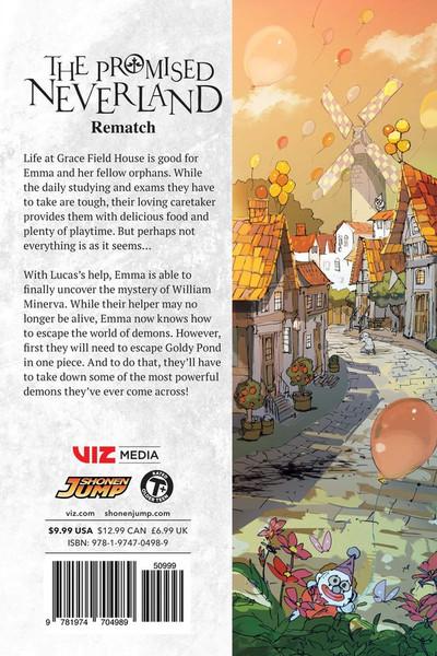 The Promised Neverland Manga Volume 10