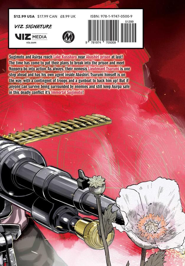 Golden Kamuy Manga Volume 13