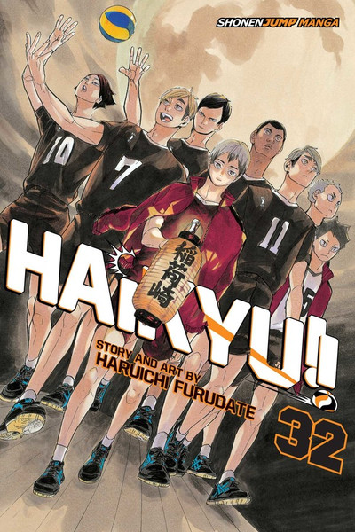Haikyu!! Manga Volume 32