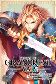 Record of Grancrest War Manga Volume 4