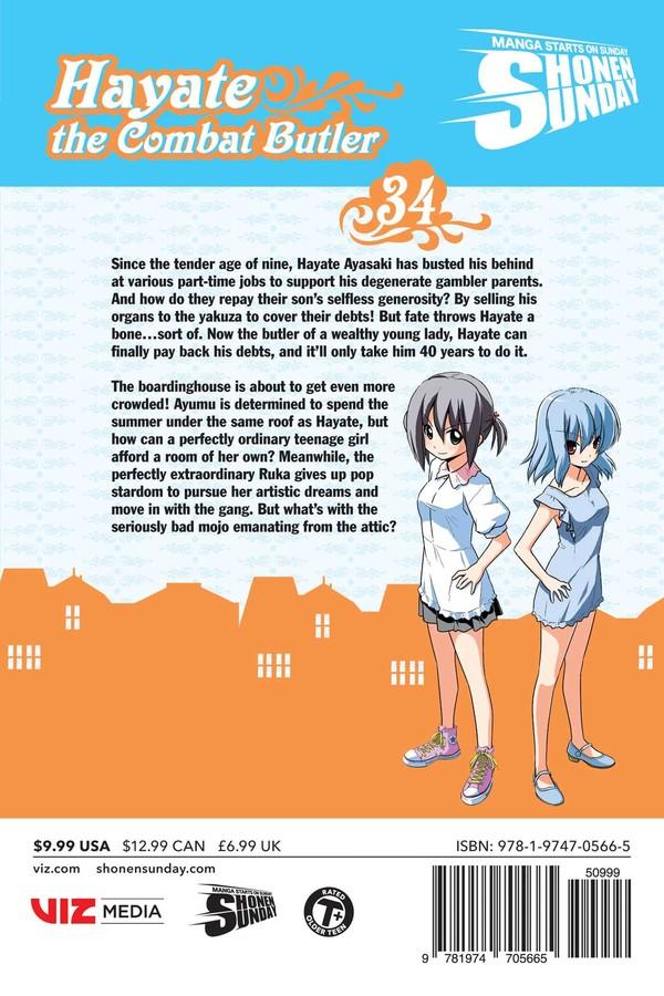 Hayate the Combat Butler Manga Volume 34