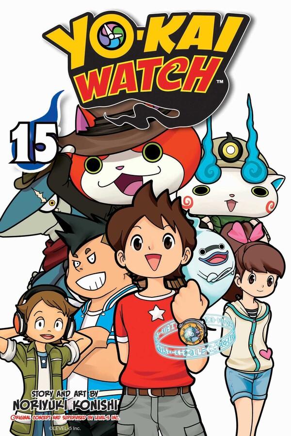 Yo-kai Watch Manga Volume 15