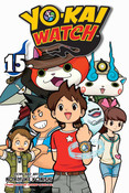 Yo-kai Watch Manga Volume 15