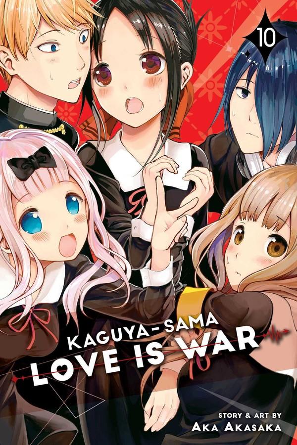 Kaguya-Sama Love Is War Manga Volume 10