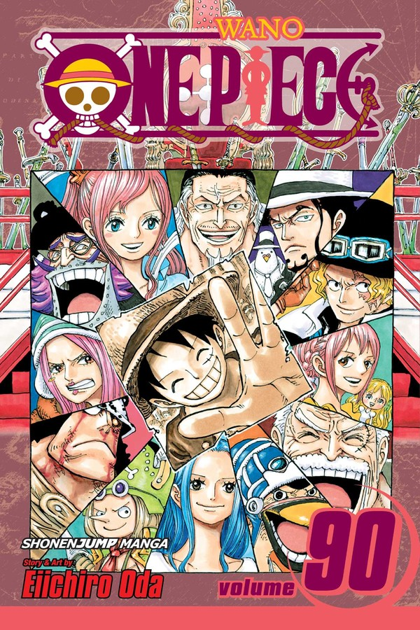 One Piece Manga Volume 90