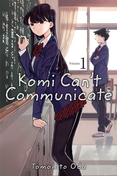 Komi Can't Communicate Manga Volume 1