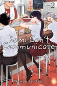 Komi Can't Communicate Manga Volume 2