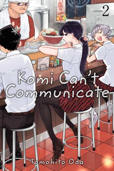 Komi Can't Communicate Manga Volume 2