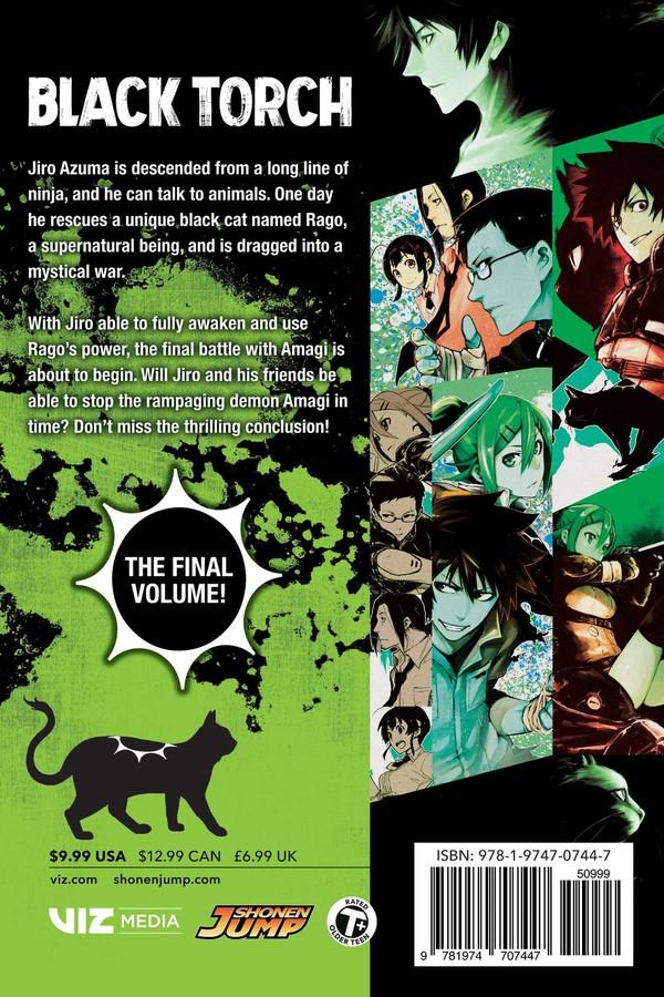 Black Torch Manga Volume 5