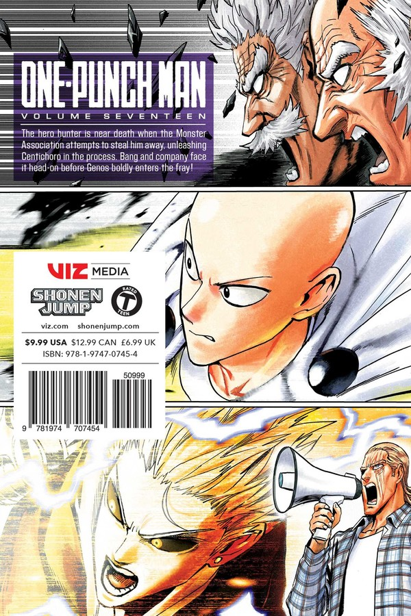 One-Punch Man Manga Volume 17