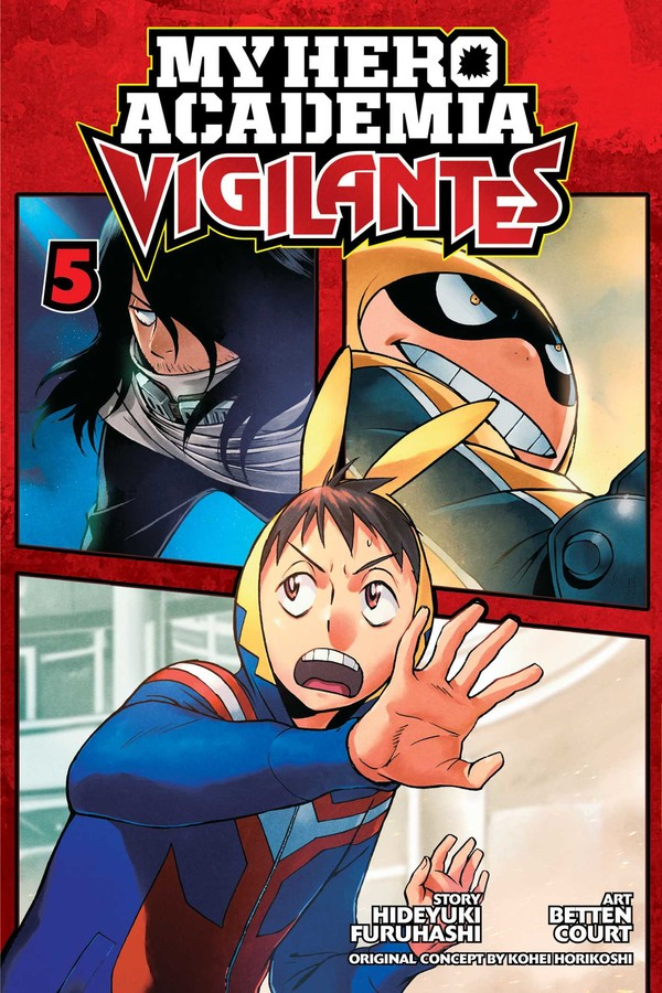My Hero Academia Vigilantes Manga Volume 5