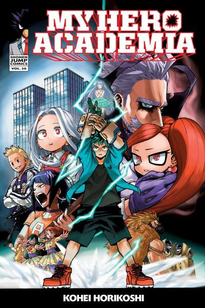 My Hero Academia Manga Volume 20