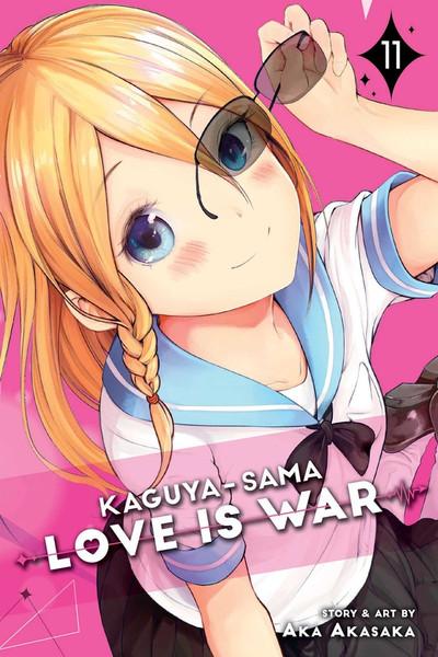 Kaguya-Sama Love Is War Manga Volume 11