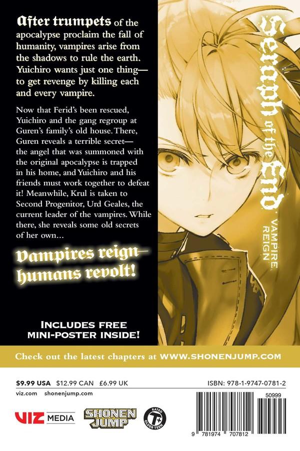 Seraph of the End Manga Volume 17
