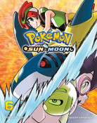 Pokemon Sun & Moon Manga Volume 6