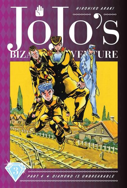 JoJo's Bizarre Adventure Part 4 Diamond Is Unbreakable Manga Volume 3 (Hardcover)