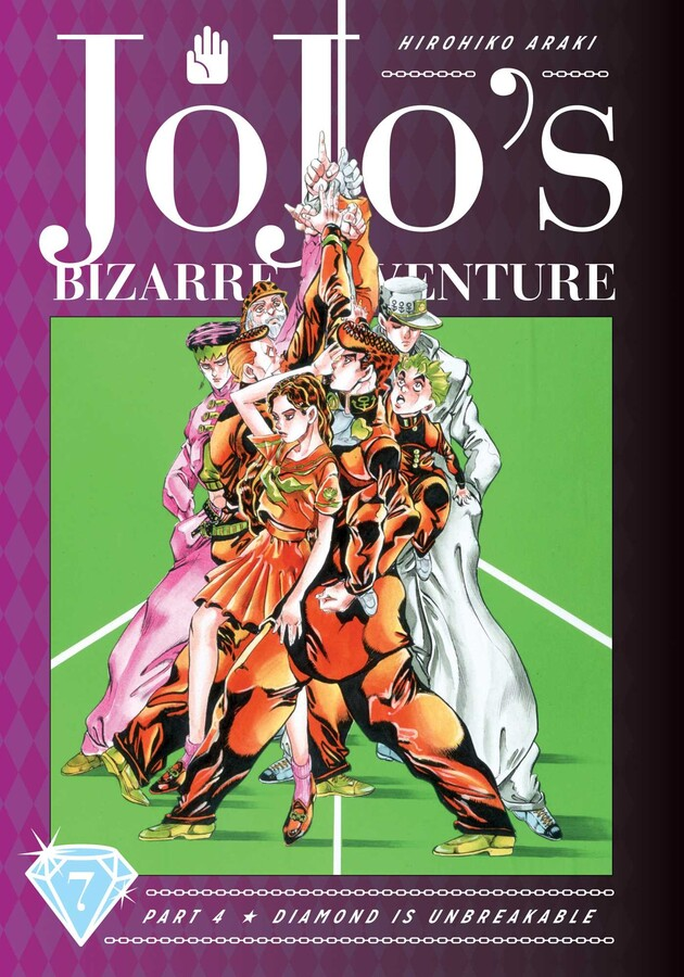 JoJo's Bizarre Adventure Part 4 Diamond is Unbreakable Manga Volume 7 (Hardcover)