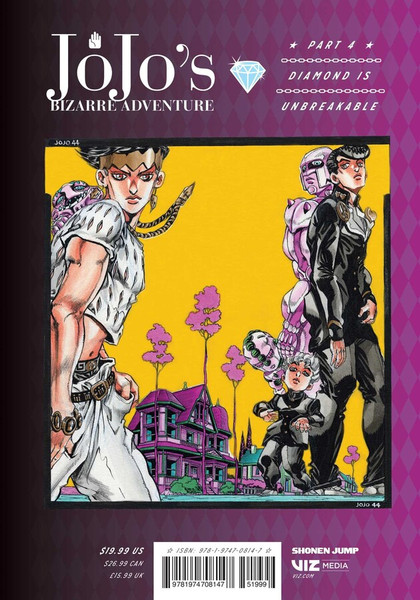 JoJo's Bizarre Adventure Part 4 Diamond is Unbreakable Manga Volume 8 (Hardcover)