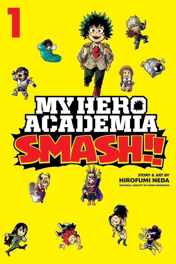 My Hero Academia Smash!! Manga Volume 1