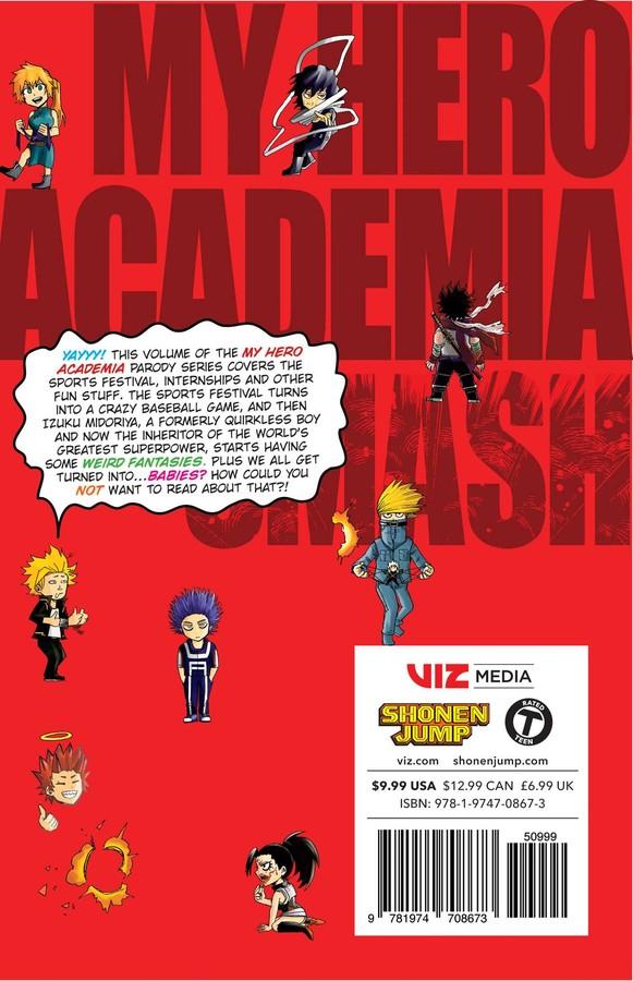 My Hero Academia Smash!! Manga Volume 2