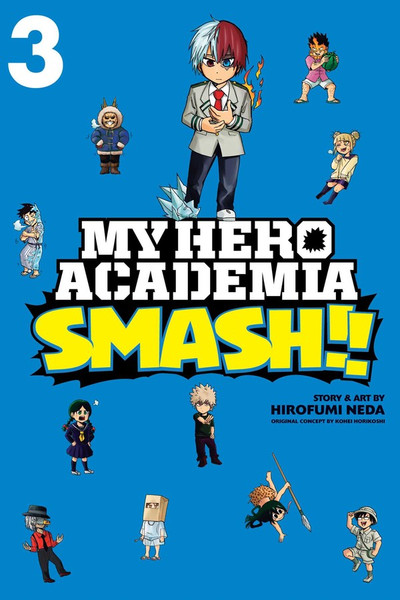 My Hero Academia Smash!! Manga Volume 3