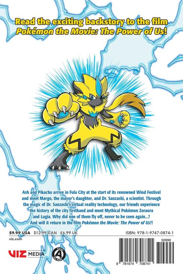 Pokemon The Movie The Power Of Us Zeraora S Story Manga
