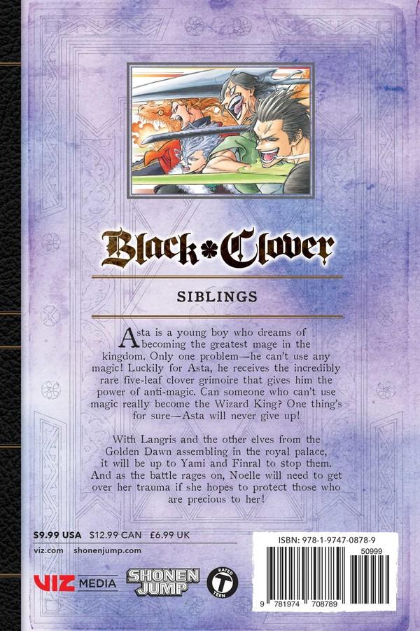 Black Clover Manga Volume 19